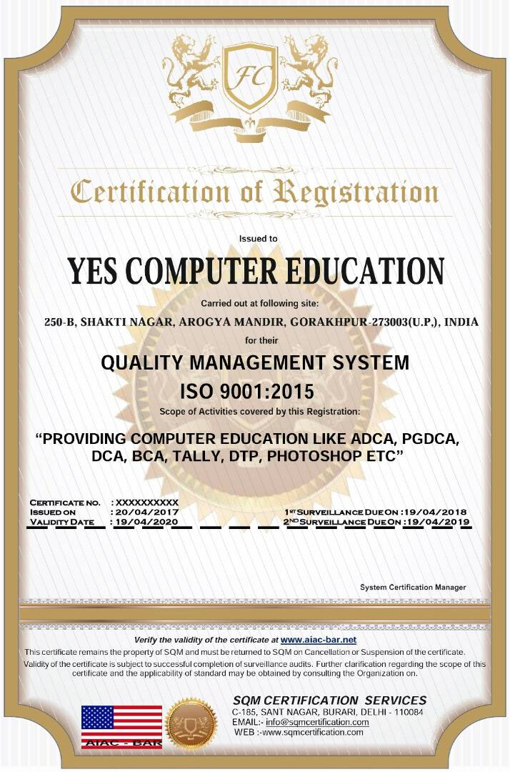 About Yes Computer Education